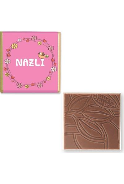 Valonia Dila Çikolata Kız Bebek Çikolatası (100 Madlen)