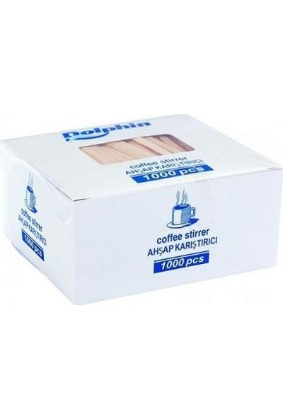 DURACUP 150 Li 7 Oz Karton Bardak + 150 Adet Tahta Karıştırıcı