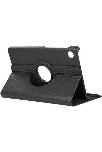 """Hypercep Samsung Galaxy Tab A7 T500 T505 Kılıf 10.4"""" (2020) 360 Standlı Dönebilen Tablet Kılıfı Siyah T500KILIF"""