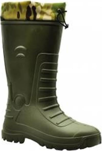 Gezer 45 Numara Gezer Kauçuk Çoraplı Uzun Çizme