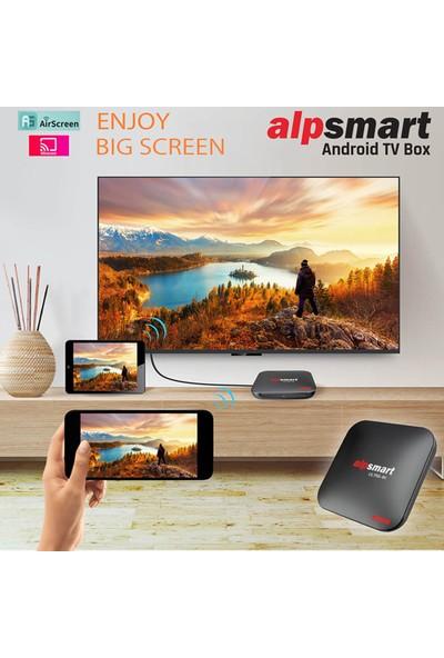 Alpsmart AS575-X3 4K 4gb Ram 64GB Hafıza Android Tv Box