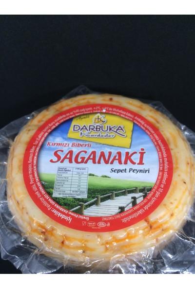 Darbuka Kardeşler Kırmızı Biberli Saganaki Sepet Peyniri 1050 gr