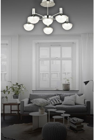 Luna Lighting Modern Luxury LED Avize Gold