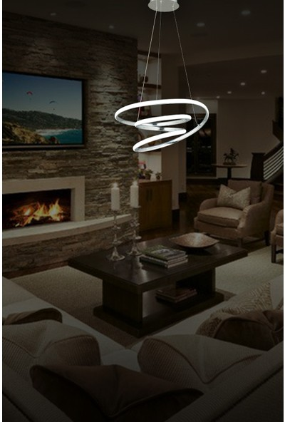 Luna Lighting Modern Luxury Sarkıt LED Avize