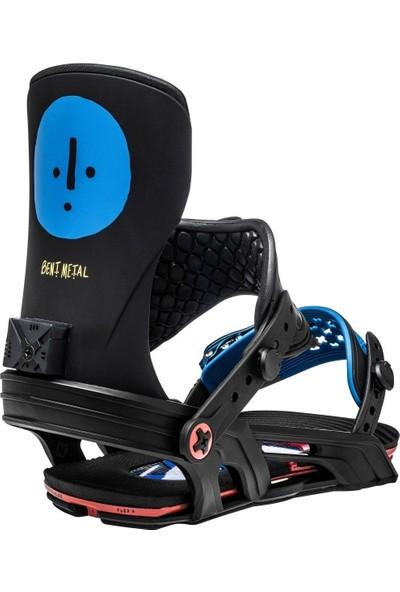 Bent Metal Bentmetal Axtion Blue Snowboard Bağlama