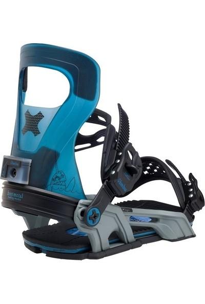 Bent Metal Bentmetal Logic Blue Snowboard Bağlama