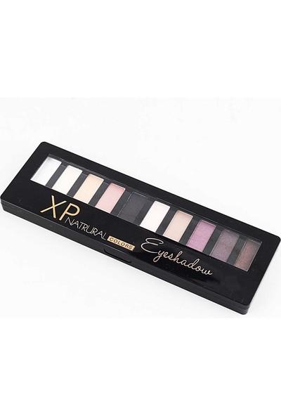 Xp Natrural Colors Eyeshadow 10'lu Far Paleti