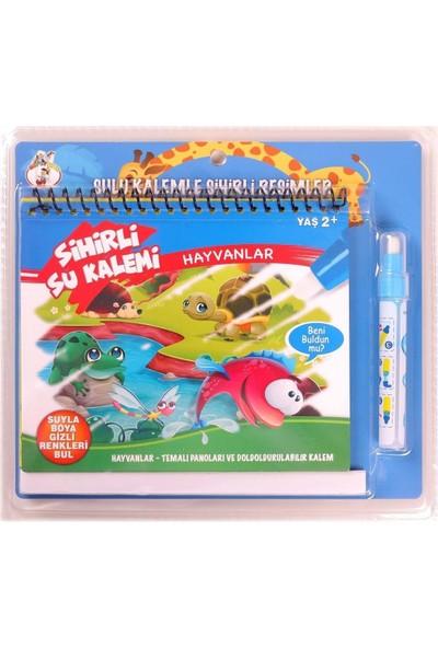 Gepettoys Sihirli Su ile Boyama Kitabı Seti Hayvanlar