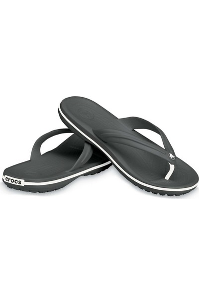 Crocs 11033-001 M9/W11 - 42/43 Crocband Flip Siyah-Beyaz