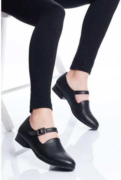 Ayakkabı Frekansı Jaden Babet Ayakkabı Siyah