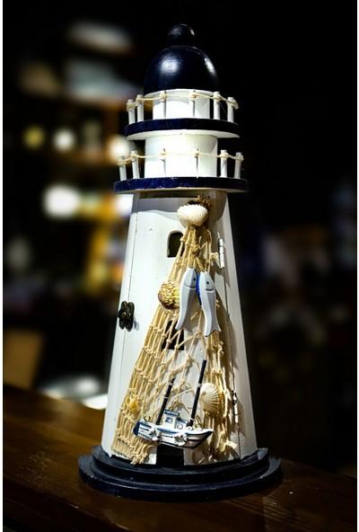 Tual Deniz Feneri Anahtarlık Dolabı