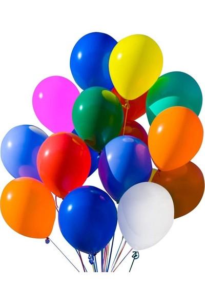 Acar Süs Metalik Karışık 10'lu Balon