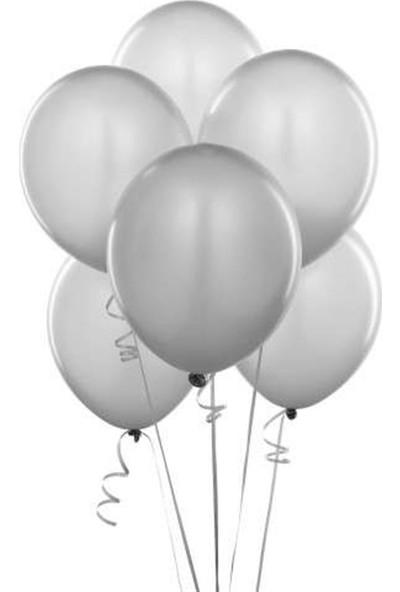 Acar Süs Gümüş Metalik 10'lu Balon