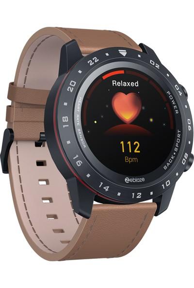 Zeblaze Neo 2 Tam Dokunmatik Ekran 24S Nabız Kan Basıncı Monitörü Akıllı Saat - Kahverengi (Yurt Dışından)