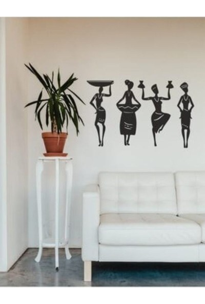 Tasarım Atölyesi Afrikalı Kadınlar Duvar Dekoru