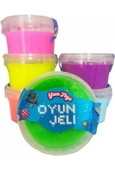 Erbek Plastik Slime Oyun Jeli Yuvarlak Kutu Yumtoys Polymer Slime Eğitici Oyun