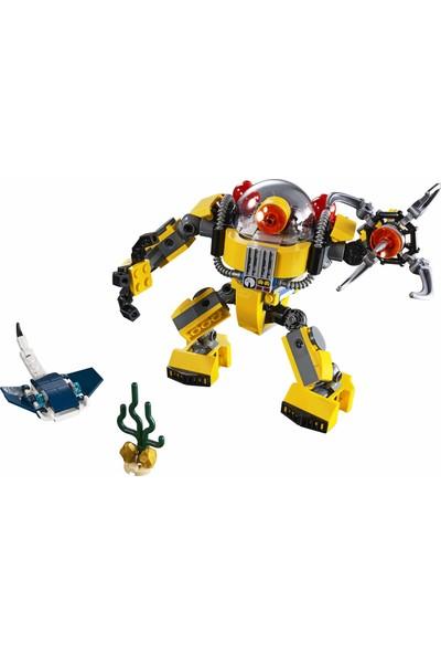 LEGO Creator Sualtı Robotu Yapı Kiti