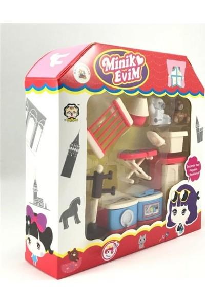 Kayyum Oyuncak Minik Evim Oyuncak Ev Oda Aksesuarları Oyun Seti