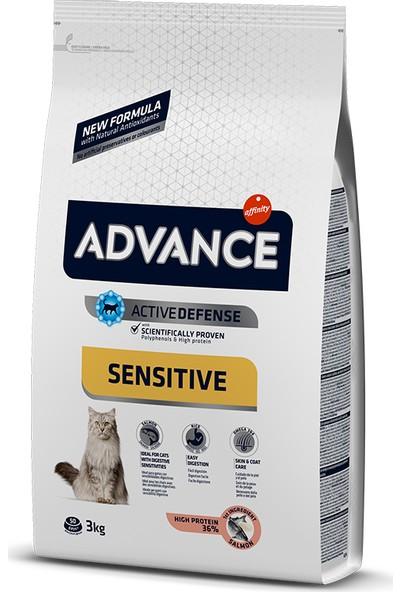 Advance Somonlu Yetişkin Kuru Kedi Maması 3 kg