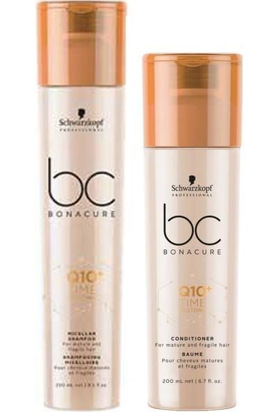 Bonacure Q10 Time Micellar Şampuan 250 Ml+Sprey Krem 200 ml
