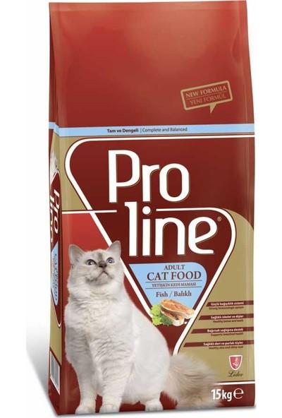 Petzania Proline Balıklı Kedi Maması 15 kg