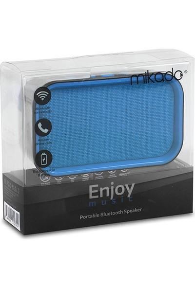 Mikado MD - 25BT Enjoy Bluetooth 3W TF/USB Destekli Hoparlör Mavi/Siyah