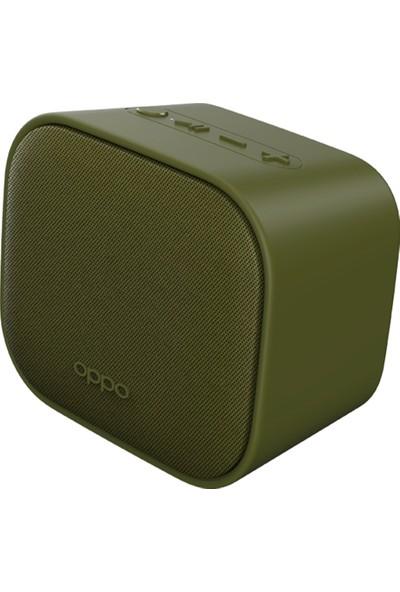 Oppo Bluetooth Hoparlör W/Clock OBMC03-GR Yeşil