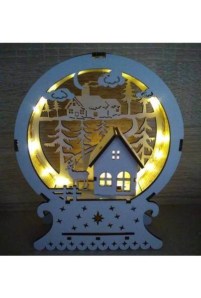 Bizim Süs Evi Kış Temalı Gece Lambası