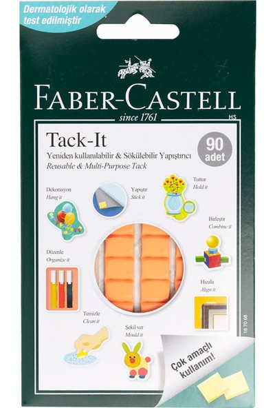 Faber-Castell Tack-it 50 gr,Karışık Renk