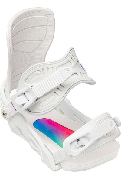 Bentmetal Stylist White Snowboard Bağlama