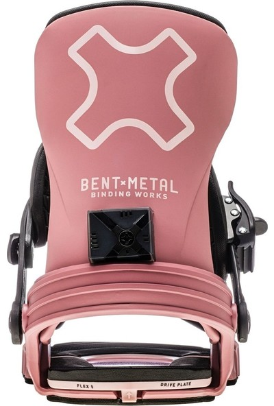 Bentmetal Stylist Mauve Snowboard Bağlama