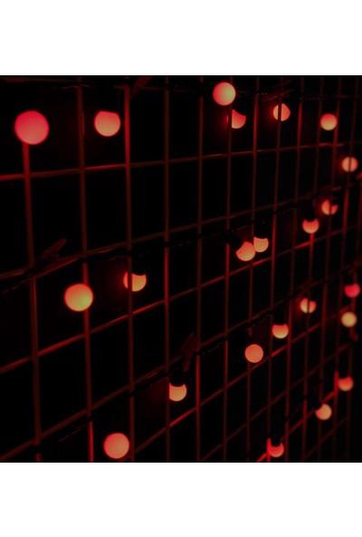 Avion Led Yılbaşı Dekorarif Top Led-Kırmızı