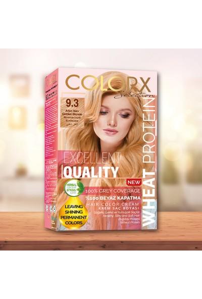 Colorx Set Saç Boyası-9.3-Altın Sarı