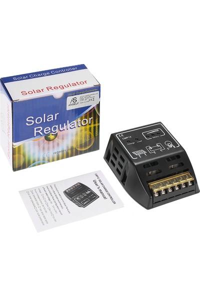 Anself Kendini 20A 12V / 24V Solar Şarj Pwm Denetleyici Güneş