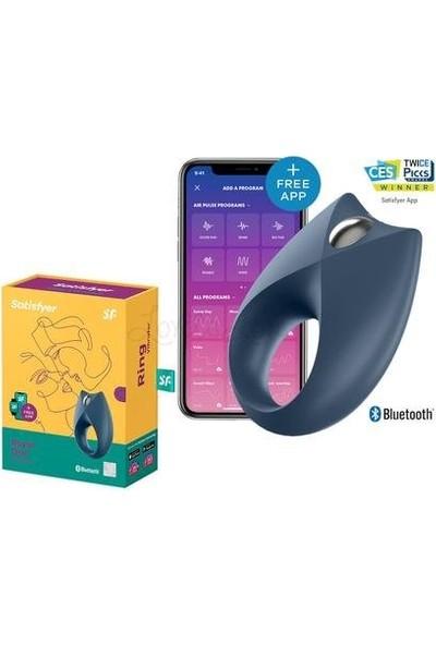 Satisfyer Royal Ring Telefon Kontrol Şarjlı Penis Halkası+Mini Titreşimli Vibratör