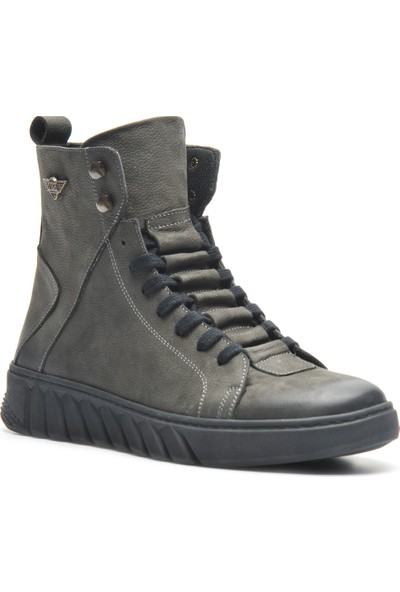 Bulldozer 210020 Antrasıt Nubuk Erkek Ayakkabı