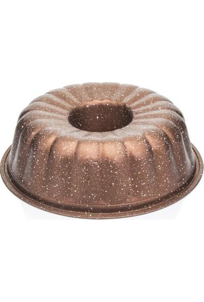 EW's Kitchenware Bronz 26 cm Dilimli Kek Kalıbı