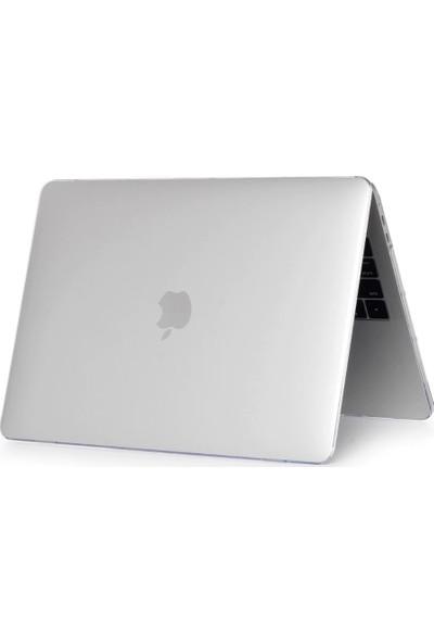 Kızılkaya Apple Macbook Air 2020 Model A2337 (M1) 13 Inç Touch Id Sert Kapak Koruma Kılıf Hardcase Mat