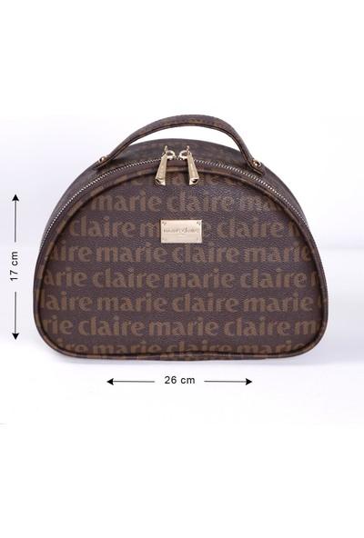 Marie Claire Kahve Kadın Makyaj Çantası July MC212111008