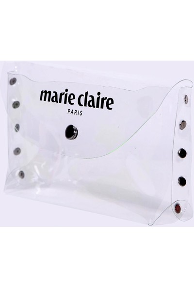 Marie Claire Transparan Kadın Makyaj Çantası Lana MC212111176