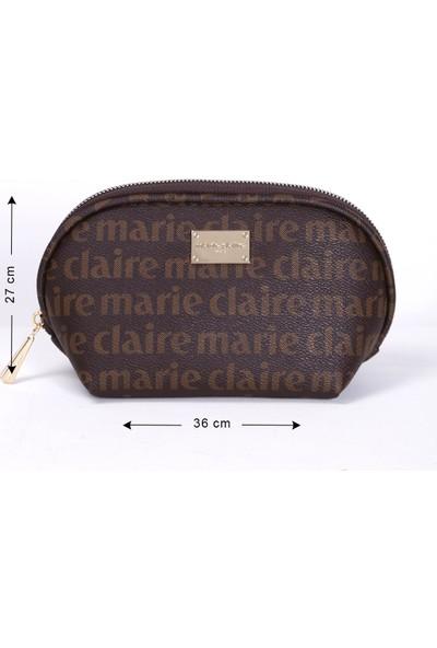 Marie Claire Kahve Kadın Makyaj Çantası Alice MC212111010
