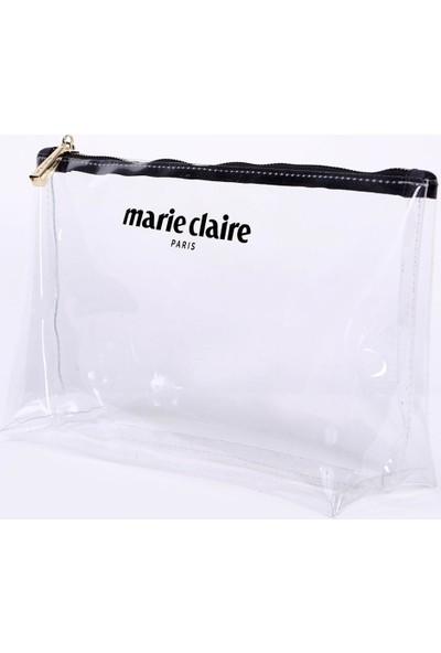 Marie Claire Transparan Kadın Makyaj Çantası Krista MC212111106
