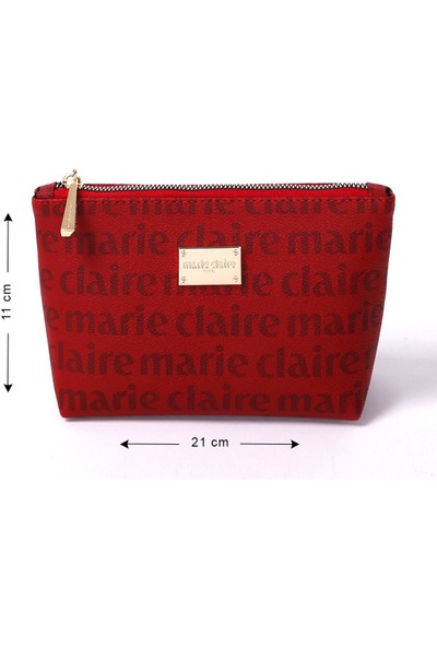 Marie Claire Bordo Kadın Makyaj Çantası Carol MC212111030