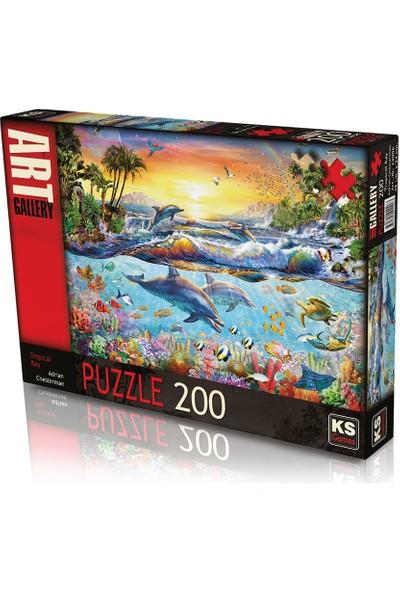 Ks Games 200 Parça Tropical Bay Puzzle