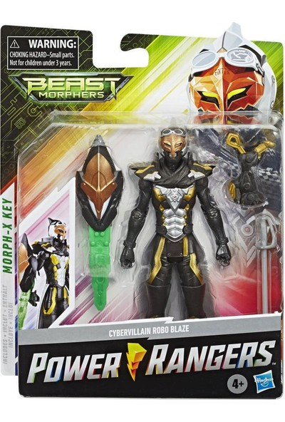 Power Rangers Lisanslı Power Rangers Beast Morphers Cybervillain