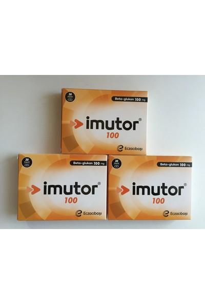 Eczacıbaşı Imutor 100 mg 30 Capsül 3 kutu