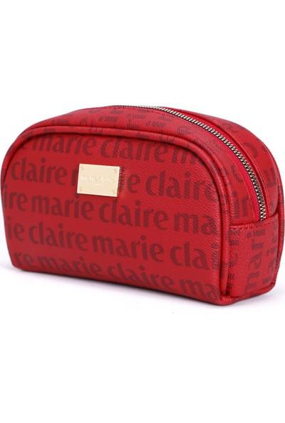 Marie Claire Bordo Kadın Makyaj Çantası Eloy MC212111184
