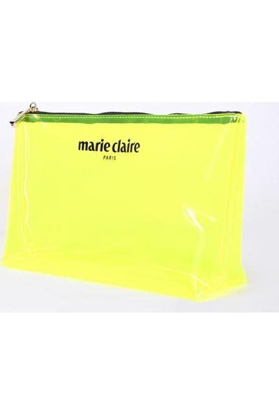 Marie Claire Sarı Kadın Makyaj Çantası Krista MC212111106