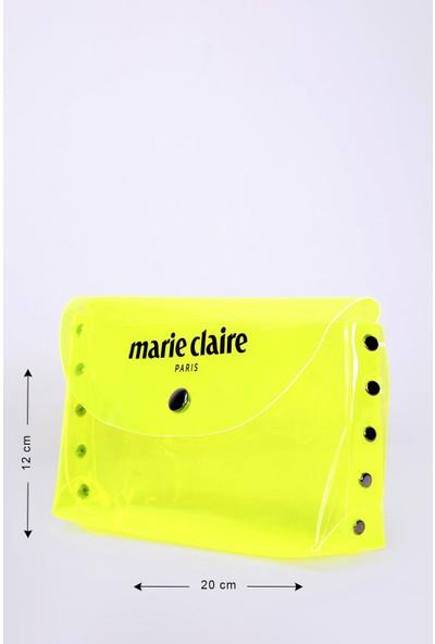 Marie Claire Sarı Kadın Makyaj Çantası Lana MC212111176
