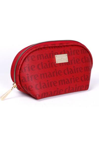 Marie Claire Bordo Kadın Makyaj Çantası Alice MC212111010